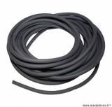 Durite d'essence 4x7 speciale hydrocarbures noir (rouleau 10m) (longue vie - fabrication francaise) pièce pour Scooter, Mécaboite, Mobylette, Maxi Scooter, Moto, Quad