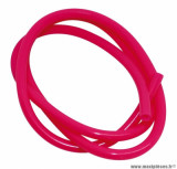 Durite essence 5mm rose fluo (1m)
