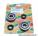 Roulement d'embiellage / vilo + joint scooter Top Perf pour Piaggio 50 zip 2t, Typhoon, nrg / gilera 50 stalker, runner (kit sc04a47cs)