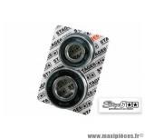 Kit roulements pour moyeu de roue avant CNC Piaggio ZIP SP - Stage 6 R/T