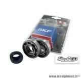 Kit roulement avec joints spy, cage acier, marque Stage 6 pour Peugeot Ludix / Jet Force
