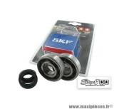 Kit roulement avec joints spy, cage polymère, marque Stage 6 pour Peugeot Ludix / Jet Force