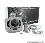 Kit Cylindre Piston 50cc Stage 6 Alu pour Scooter Morini AC (axe de 10mm)
