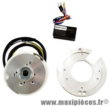 Allumage doppler rotor interne avec éclairage pour peugeot ludix et jet-force.