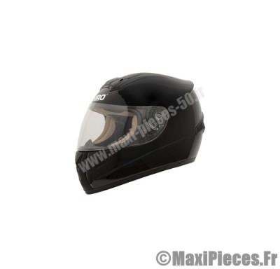casque intégral shiro sh-821 uni noir brillant taille xl (61-62 cm)