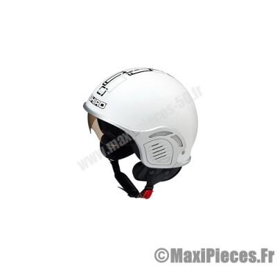 casque jet shiro sh-482 glory blanc taille m (demi-jet)