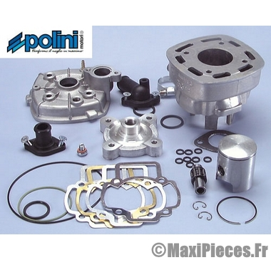 kit haut moteur 50 cc polini evolution h20 : piaggio nrg mc2 mc3 ntt quartz zip aprilia sr 50 derbi atlantis gilera runner dna ...
