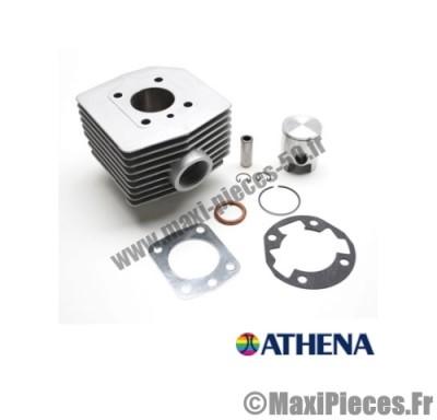 kit cylindre piston monosegment athena alu pour mbk 51 air