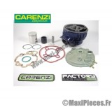 kit haut moteur 50cc carenzi fonte cylindre piston + culasse adaptable : minarelli am6 : aprilia rs rx peugeot xps xp6 xr6 yamaha tzr dtr mbk x-limite x power ...