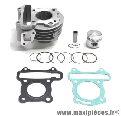kit cylindre piston type origine 4temps (moteur 139qmb gy6): peugeot v-clic kymco agility vitality filly new dink peopel super 8 baotian bt eco bike sym simply ...