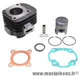 Kit cylindre piston type origine fonte axe 10 : mbk ovetto mach-g jog neos aprilia sr ...