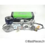 pack kit moteur complet carenzi mbk ovetto mach-g yamaha jog neos aprilia sr rally malaguti f10 f12 f15... (haut moteur fonte, vilo renforcé, roulement, joint...)