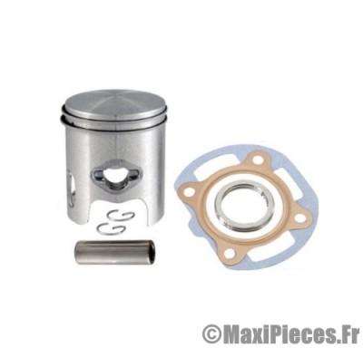 kit piston + pochette de joint adaptable a l'origine pour ovetto sr50 big max mbk mach-g pgo neos jog aprilia rally malaguti f10 f12 f15...