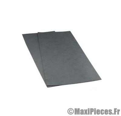 kit 2 feuille a faire les joint en papier mat armée taille 0.8mm/1.2mm pour cylindre piston, carter moteur ect ...