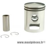 Kit piston segment axe clips adaptable a l'origine pour mbk 51