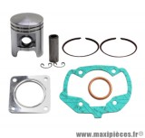 Kit piston + pochette de joint adaptable a l'origine peugeot ludix 50 2temps one snake trend + vivacity nouveaux model
