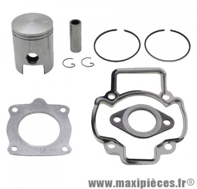 Kit piston + pochette de joint adaptable a l'origine pour typhoon storm ice stalker liberty nrg zip sfera fly vespa ...