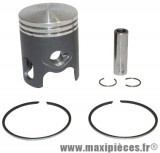 piston top perf pour cylindre fonte black trophy : mbk booster spirit stunt rocket ovetto nitro ...(50cc 2t)