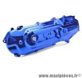 Déstockage ! Carter de variateur anodisé bleu neuf pour Mbk Booster Bw's Spy NG Rocket Stunt... (défaut de peinture)