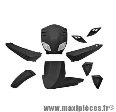 Prix spécial ! Kit carrosserie pour MBK stunt slider noir metal (9 pièces)