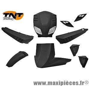 Kit carrosserie pour MBK stunt slider noir metal (9 pièces)