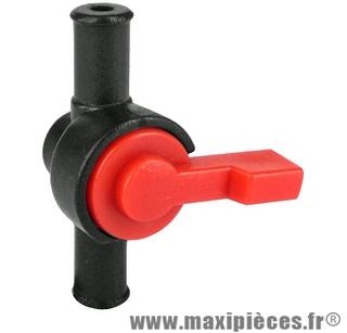 Robinet essence plastique universel Ø8mm