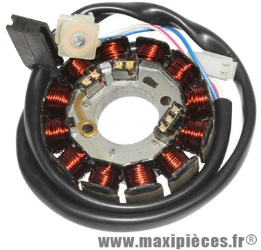 stator pour moteur minarelli am6 dt50 xlimit xpower tzr50 aprilia rx rs beta rr peugeot xp6 xr6 xr7 nk7 rieju malaguti  à partir de 2007