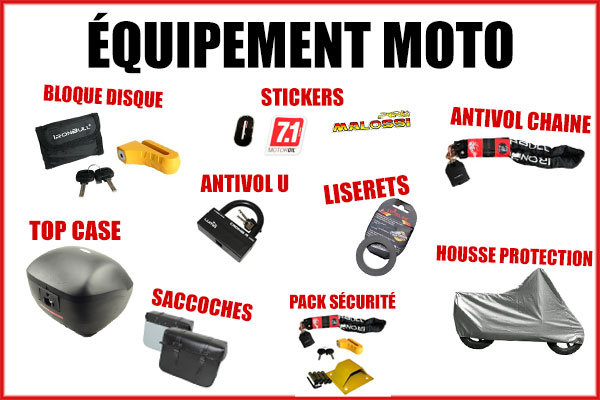 Sélection Black Friday - Equipement moto