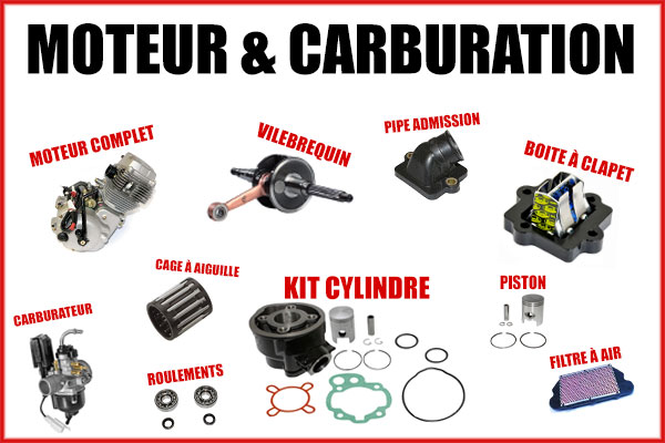 Sélection Black friday Moteur & carburation