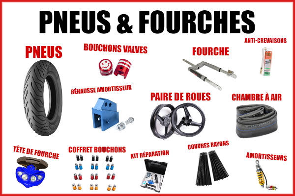 Sélection Black Friday - Pneus et fourches