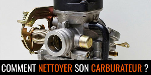 Nettoyer son carburateur scooter