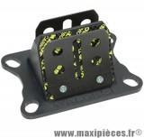 Clapet malossi carbone vl6 pour 50 a boite minarelli am6 et moteur derbi (euro2 euro3)