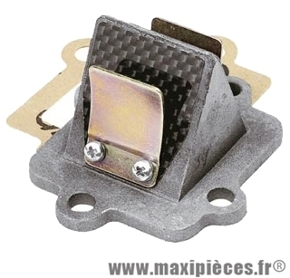 Clapet doppler sr3 carbone : aprillia sr 50 mbk nitro ovetto mach-g malaguti f10 f12 f15 yamaha aerox neos ...