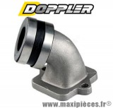 Pipe admission Doppler s2r pour carburateur 50cc de 12 a 21 mm