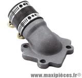 Pipe admission doppler s2r pour carburateur 50cc de 12 a 21 mm:mbk nitro ovetto neos jog mach-g yamaha aerox f12 aprilia rally sr50 malaguti f15 ...