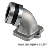 Pipe admission Doppler s2r pour carburateur 50cc de 12 a 21 mm Peugeot ludix