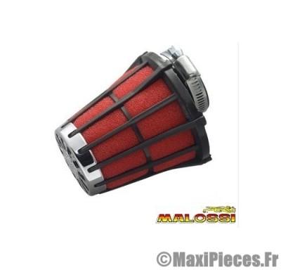 filtre a air malossi e 5 phbg noir mousse rouge