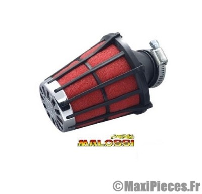 filtre a air malossi e 5 adapt speedfight trekker noir mousse rouge