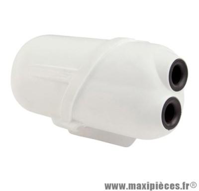 boite a air doppler air box blanc pour moteur minarelli