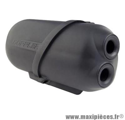 Boite a air doppler air box noir pour moteur piaggio