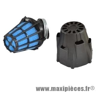 Filtre a air polini air box etanche 50 coude 30 d42 phbh