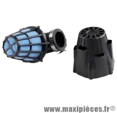 Filtre a air Polini air box étanche coude 90° Ø32 PHBG