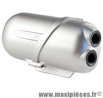 boite a air doppler air box gris pour moteur minarelli