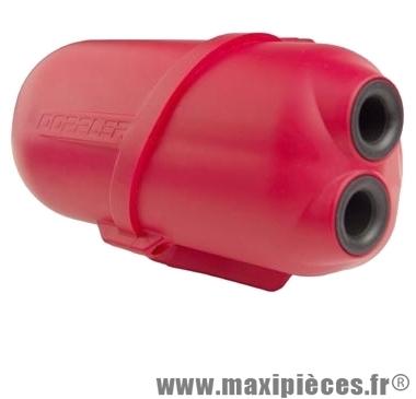 boite a air doppler air box rouge pour moteur piaggio