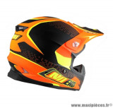 Casque moto cross NoEnd Defcon by OCD Tx696 taille S (T55-56) couleur orange mat