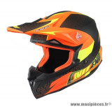 Casque moto cross NoEnd Defcon by OCD Tx696 taille M (T57-58) couleur orange mat
