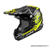 Casque moto cross Voodoo Ride Icon SC15 taille XS (T53-54) couleur jaune