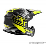 Casque moto cross Voodoo Ride Icon SC15 taille S (T55-56) couleur jaune