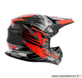 Casque moto cross Voodoo Ride Icon SC15 taille XXL (T63-64) couleur rouge