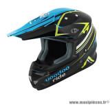 Casque moto cross Voodoo Ride Pro Replica SC15 taille XS (T53-54) couleur bleu